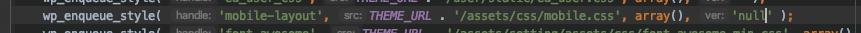 wp_enqueue_style 设置不当引起的css cache无法及时更新